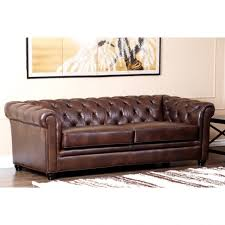 sofas awesome brown leather sectional abbyson leather sectional
