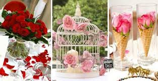 deco mariage deco tables of marriage with roses 20 ideas to inspire you