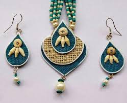 jute earrings jute jewellery jute jewelry patsan ke jevar shree ram trading