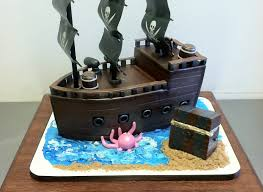 3d cake pirate ship 3d cake aestheticakes