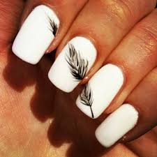 nail designs with white how you can do it at home pictures