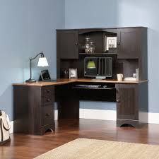 multi tiered computer desk sauder transit collection multi tiered l shaped desk august hill