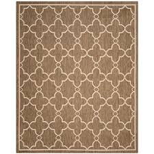 Discount Area Rugs 8 X 10 Safavieh Resort Collection Mare Toast Area Rug 8 X 10