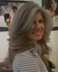 how to grow in gray hair with highlights 139 best grey hair transition inspiration images on pinterest