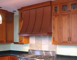ceiling lovable copper brown stove hood match with brown wood