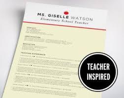 53 best teaching resume images on pinterest teaching resume
