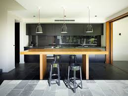 kitchen delightful sleek wooden tall kitchen table nice inside