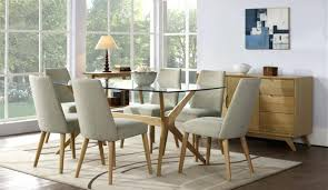 glass top dining table set uk tables room and chairs 23456