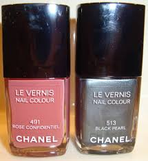 ella pretty blog chanel black pearl nail polish and other shopping