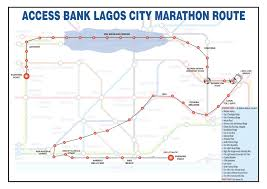 Route Mapping by Routes U0026 Maps U2013 Access Bank Lagos City Marathon 2017