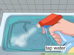 How To Remove Stains From Bathtub 3 Easy Ways To Clean Tough Stains From A Bathtub Wikihow
