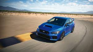 blue subaru gold rims 2018 subaru wrx sti is everything you liked about the old car