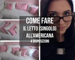 Lenzuolo Ikea by Come Fare Il Letto Singolo All U0027americana Effe Youtube