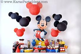 mickey mouse birthday party kara s party ideas mickey mouse themed birthday party planning