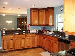 kitchen cabinet kitchen colors with honey oak cabinets flatware