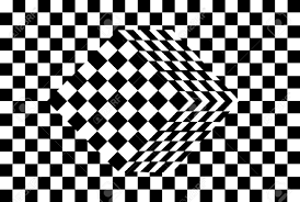 Optical Illusion Wallpaper by Black And White Cube Optical Illusion Vector Royalty Free Cliparts