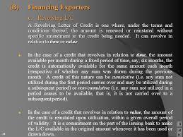 Letter Of Credit Validity international trade finance ppt