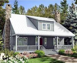 house plans with front and back porches plan 58555sv big rear and front porches rustic house plans