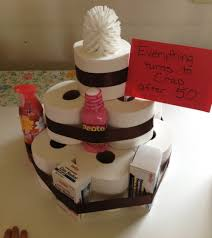 toilet paper cake fun gift turning 50