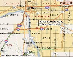map of tulsa riverside counseling 918 706 5835