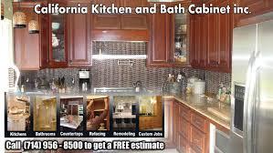 Kitchen Cabinets In Orange County Ca Irvine Cabinet Maker California Kitchen And Bath Cabinet Inc In
