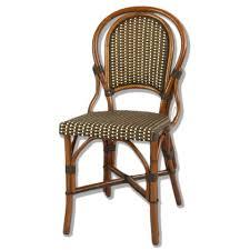 Wicker Bistro Chairs Marais Rattan Bistro Chair 5 Patterns Bistro Patio Furniture