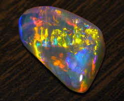 andamooka opal created by a rainbow opals are also known as the fire of the