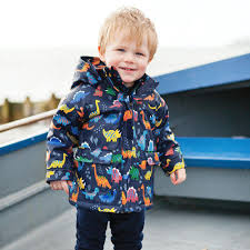 dinosaur fleece lined fisherman s jacket jojo maman bebe dinosaur fleece lined fisherman s jacket