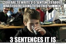 School Today Meme - lazy elementary school kid meme derp a derp back to school