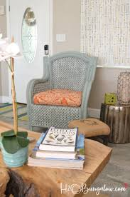 Can You Paint Wicker Chairs How To Paint Wicker Furniture Quickly And Easily H20bungalow