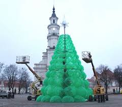 plastic bottle christmas tree and other recycle ideas for tree