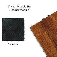 centiva wood grain interlocking snap lock tile trade flooring