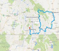 Map A Driving Route by Nelson To Calgary A Rockies Road Trip Explore Bcexplore Bc