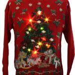 homemade custom 3 d hysterical reindeer tacky ugly christmas with
