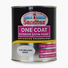 sandtex one coat exterior satin paint