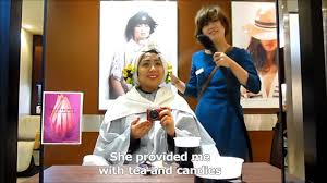 at a japanese hair salon youtube