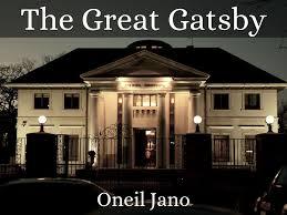 the great gatsby by oneiljano1
