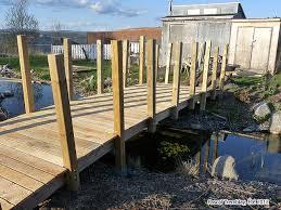Backyard Bridge Garden Bridge For Pond Water Garden Diy Pond Bridge Water Gardening