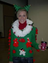 The Ugly Christmas Sweater Party - christmas ugly sweater like the bells down the arm and wreath