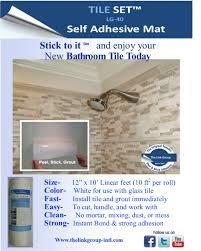 peel and stick shower tile best shower