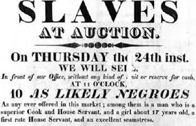 slavery auction the true meaning of black friday