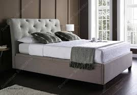 Ottoman Storage Beds Kaydian Brunswick Linen Fabric Ottoman Storage Bed Oldrids
