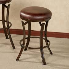 furniture modern and contemporary backless swivel bar stools