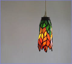Stained Glass Pendant Light Pendant Light Replacement Shades Clear Glass L Shades