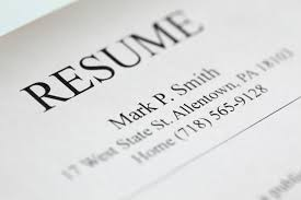 resume header five resume header tips après