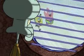 Squidward Meme - the squidward window meme helps us work through fomo