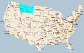 Montana Highway Map Montana State Maps Usa Maps Of Montana Mt State Map Where Is