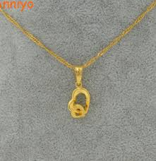 girl gold necklace images Anniyo small heart necklace pendant for women gold color small jpg