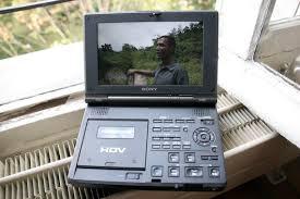 hdv cassette walkman vid礬o sony gv hd700 test magazinevideo