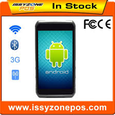 android qr scanner high quality touch screen android pda barcode scanner 1d 2d qr